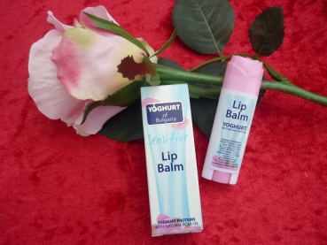 Sensitive Lippenbalsam mit Joghurt Stift, 5 ml
