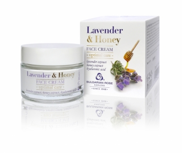 Gesichtscreme Lavender and Honey, 50 ml